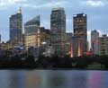 Dusk from Mrs Macquaries Pt Sydney