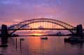 Stunning Harbour Bridge Sunrise